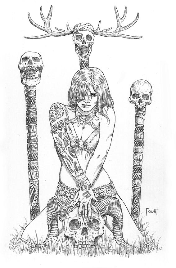 Bone Mystic by MitchFoust