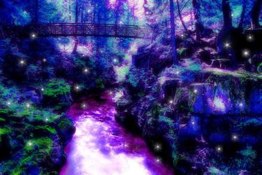 Fantasy Rogue River Gorge by Kudoshido
