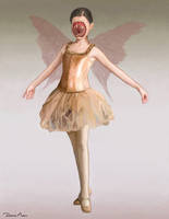 Sugar Plum Fairy - The Cabin in the Woods by DausenMoore-Art