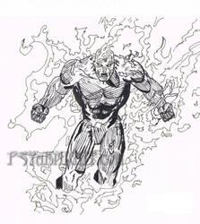 Human Torch by PSYaKNIGHT
