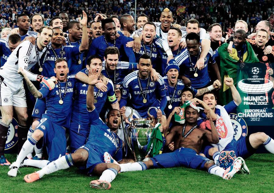 Chelsea Champions League Winner 2012 Wallpaper By Reto180 On
