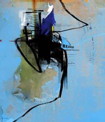 x blue by CSISMAN