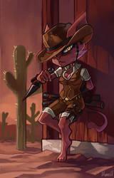 Ninja Cat Deputy by Hozure