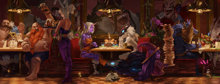 Cafe Draven by Hozure