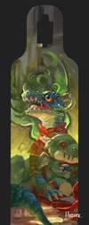 Dragon Longboard Design by Hozure
