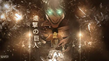 Wallpaper Shingeki no Kyojin FULL HD by Sl4ifer