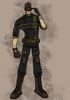 steampunk cyclops by kaneburton