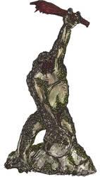 Cave Troll by kaneburton