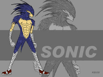 Sonic by kaneburton