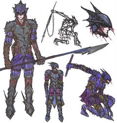 Dragoon by kaneburton