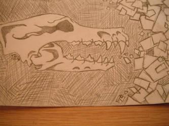 Abstract Skull by Copycat-Misfitz