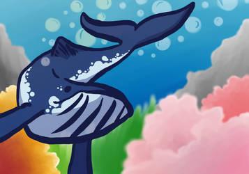 Alfonz the whale by Copycat-Misfitz