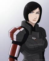 Mass Effect - My Shepard by EtyrnalOne