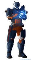 Destiny Guardian - Titan by EtyrnalOne
