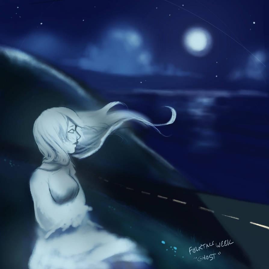 Folktale Week Day 4: Ghost by AnneDyari