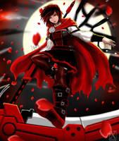 Ruby Rose (after timeskip) by X-kulon