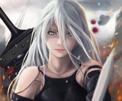 Yorha Type A Number 2 by X-kulon