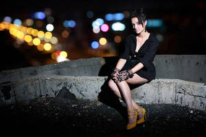 Little Black Dress by azrael-x64