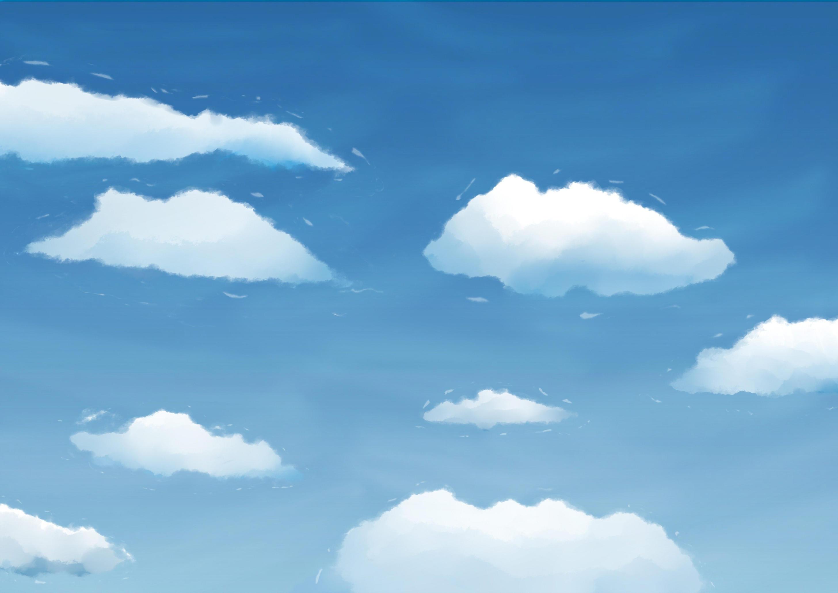 Clouds paint by Colorsark