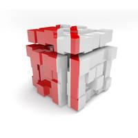 3D Cube by Colorsark