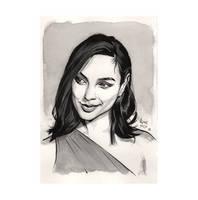 Gal Gadot, Wonder Woman by hirix