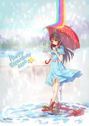 Rainy Day by Bamoh-cchi