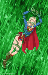 Supergirl trapped - commisison by mhunt