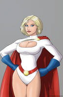 Powergirl by mhunt