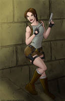 Tomb Raider by mhunt