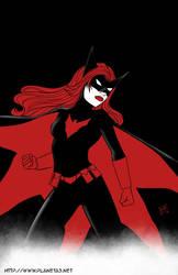 Batwoman - Inktober #11 by mhunt