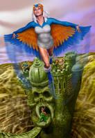 The Sorceress MOTU by AyotaArtwork