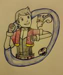 Pokemon Ranger Kellyn by ZhenGuan