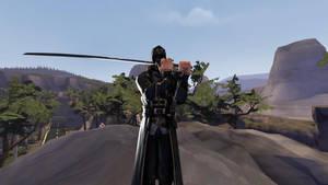 Samurai Corvo by catofoz