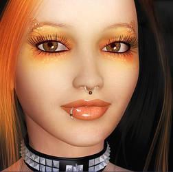Red Girl by Vintyfalken