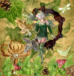 Leaves Fairy by Vintyfalken