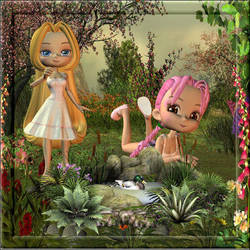 Garden by Vintyfalken
