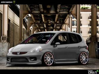 Honda Fit by JMV-Design