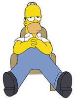 Homer Simpson by RichGinter