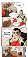 Urine trouble by PyrotheWolfdog