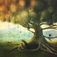 Under the Tree by fizzyjinks