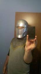 Helmet In Progress 2 by addaon40