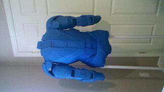 Iron man armor WIP by addaon40