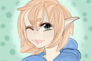 Sketch Colored by Tatimaru