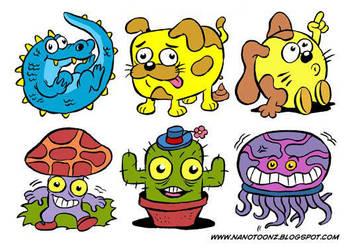 stickers by ZeroCartoon