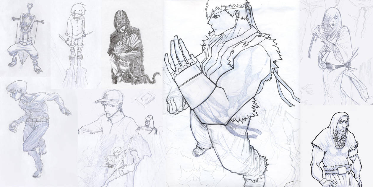 sketches compilation by chkkll