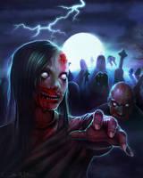 Zombies by Amanda-Kihlstrom