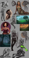 Sketches X by Amanda-Kihlstrom