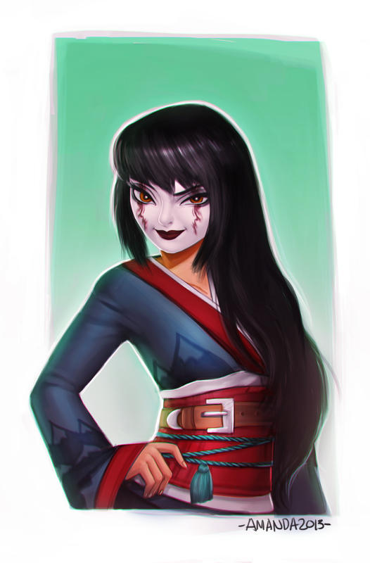 Commission: Kuni Oharu by Amanda-Kihlstrom
