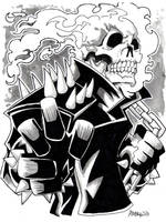 Ghost Rider by misfitcorner
