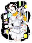 Sandra Benes Space 1999 by misfitcorner